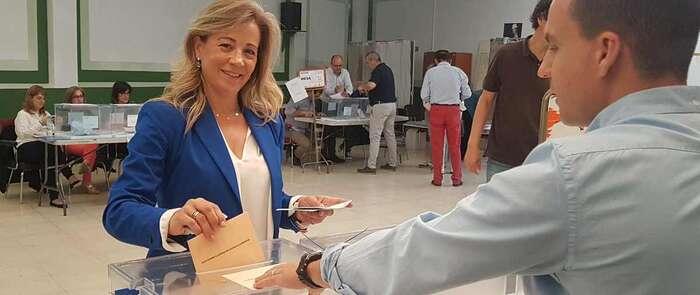 """Merino anima a los vecinos de Ciudad Real a votar """"porque hoy está en juego el cambio en la capital y en Castilla-La Mancha"""""""