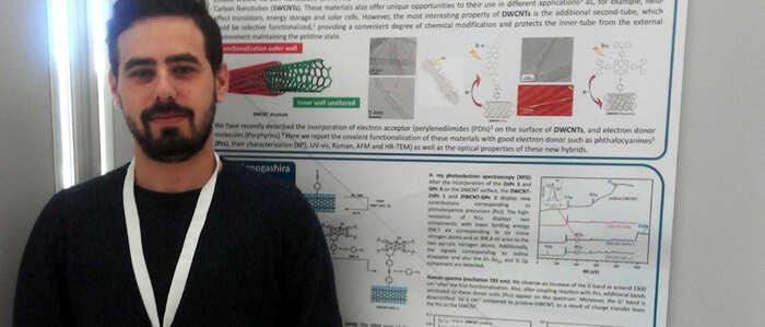 El estudiante de la UCLM Luis Miguel Arellano, mejor póster del XIII Simposio de Investigadores Jóvenes de la Real Sociedad Española de Química
