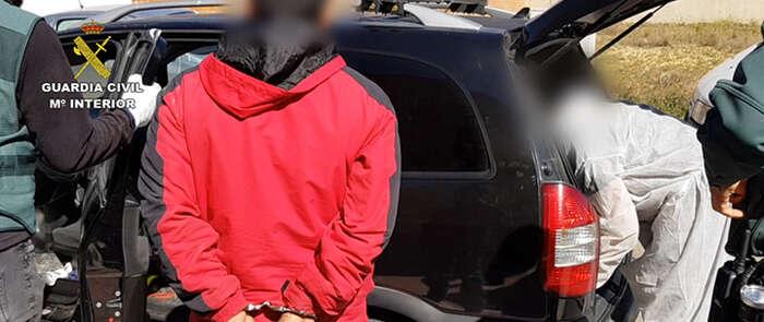 La Guardia Civil desmantela tres plantaciones de marihuana en Toledo y detiene a siete personas