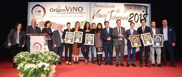 Los vinos jóvenes D.O La Mancha vuelven a ser los protagonistas en Madrid con su entrega anual de premios