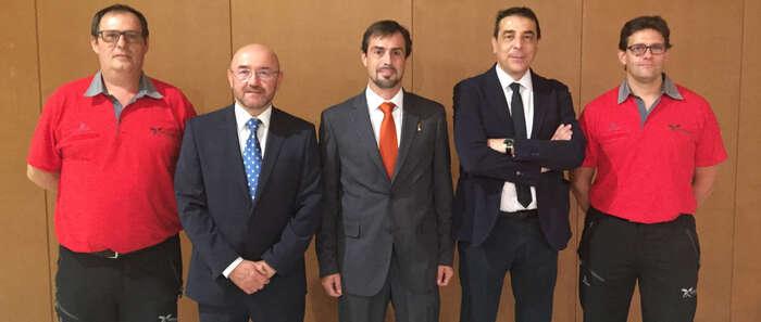 Medalla al Mérito de Protección Civil para un técnico-experto de Prevención y Extinción de Incendios de la Junta de Castilla-La Mancha