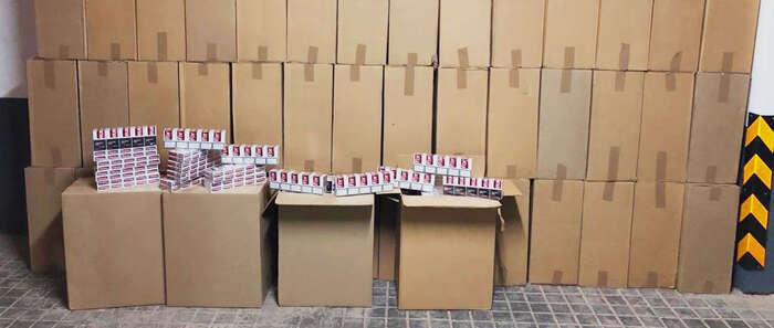 Detenida una persona en Membrilla con 30.000 cajetillas de cigarrillos de contrabando