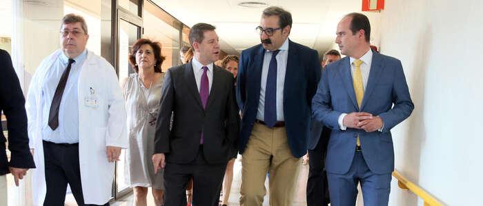 """El nuevo Hospital de Guadalajara supone la mejor muestra del """"compromiso nítido"""" del Ejecutivo regional con esta provincia"""