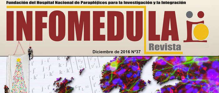 La nueva edición de Infomédula muestra los proyectos científicos de Parapléjicos en asociación con centros de investigación europeos