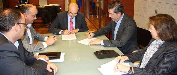 El Gobierno regional y Mercadona firman un acuerdo de colaboración para la rápida comunicación de alertas sanitarias