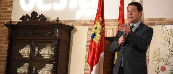 """El presidente de Castilla-La Mancha anima a superar definitivamente el reto de la crisis con proyectos diseñados """"con la altura de miras más alta"""""""