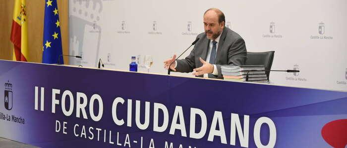 El grado de cumplimiento de los compromisos asumidos por el Gobierno de Castilla-La Mancha alcanza el 58 por ciento