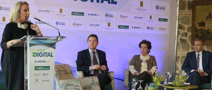 García-Page ofrece a Cospedal retomar el diálogo institucional para abordar temas importantes como la reforma del Estatuto de Autonomía