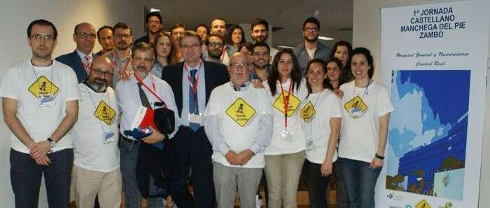 Una veintena de traumatólogos se forman en el Hospital de Ciudad Real en la primera jornada castellano-manchega sobre el 'pie zambo'