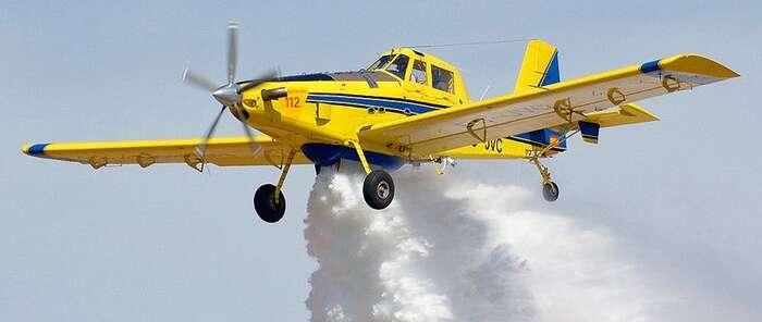 Castilla-La Mancha colabora en la extinción del incendio forestal de Portugal con dos aviones de carga en tierra