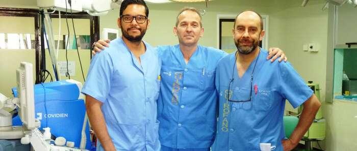 El Hospital de Puertollano realiza con éxito la primera intervención para extirpar un tumor renal por vía laparoscópica