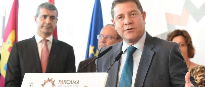 """Emiliano García-Page: """"La democracia consiste en hablar, fuera de ella no hay diálogo posible"""""""