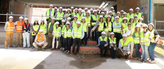 Los profesionales del Complejo Hospitalario visitan las obras del nuevo Hospital Universitario de Toledo