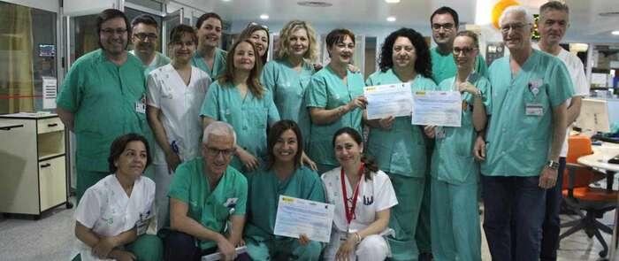 La Unidad de Cuidados Intensivos de la Gerencia de Albacete, reconocida por sus buenos resultados en proyectos que mejoran la seguridad del paciente
