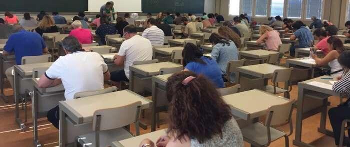 Un total de 1.864 personas han realizado las pruebas de competencias clave que se han celebrado en siete sedes de la región