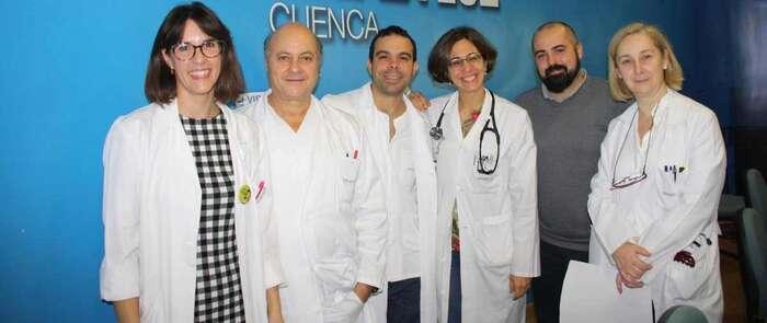 Cinco servicios hospitalarios presentan los avances en el tratamiento del cáncer de mama en el 'Virgen de la Luz' de Cuenca