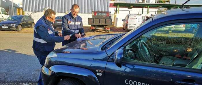El Gobierno de Castilla-La Mancha realiza un simulacro de comunicaciones en el complejo petroquímico de Puertollano