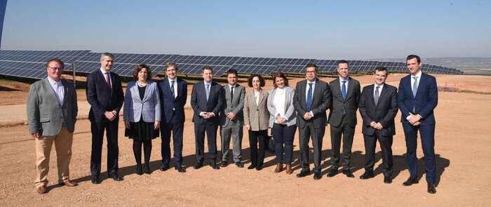 Inaugurada la planta solar fotovoltaica de Naturgy en El Carpio de Tajo (Toledo)