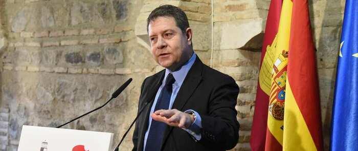 """El presidente de Castilla-La Mancha asegura que las Elecciones Generales a finales de abril serían """"un acto que aprecia a la política"""""""