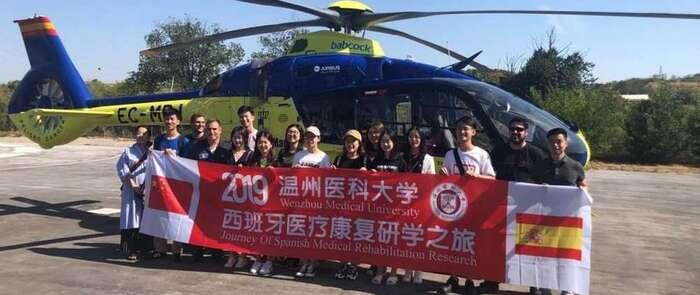 Un grupo de estudiantes de Medicina de China elige Castilla-La Mancha para ampliar sus conocimientos y conocer el sistema sanitario español