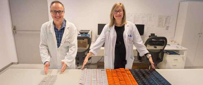 Un proyecto del Hospital Nacional de Parapléjicos basado en el reetiquetado disminuye los residuos contaminantes en los servicios de farmacia de los hospitales