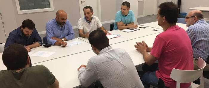 Podemos CLM se reúne con la Asociación de Familias de Niños con Cáncer de C-LM, Afanion, en Albacete