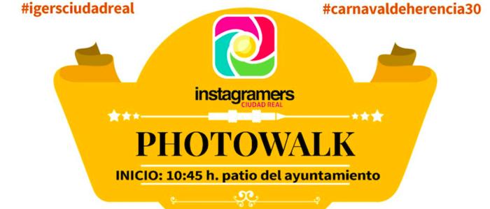El Carnaval de Herencia será punto de encuentro para los instagramers