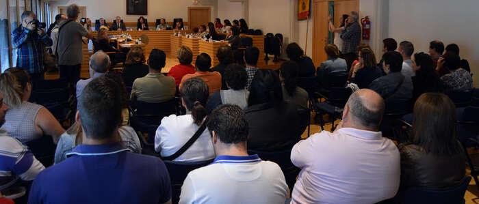 Imagen: El Pleno del Ayuntamiento de Ciudad Real rechaza la propuesta del PP  para que se cierre la EMUSVI