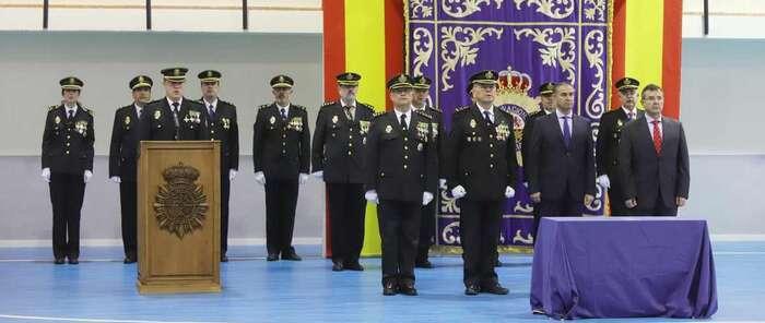 La Policía Nacional celebra el 195 aniversario de su creación