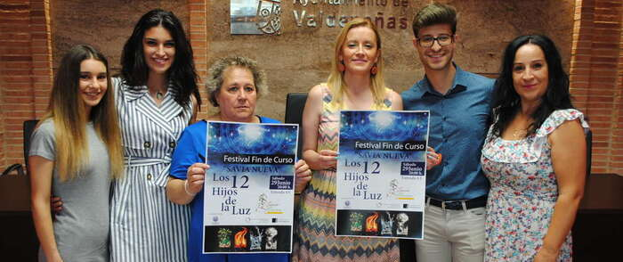 Este sábado en Valdepeñas, Festival Fin de Curso de Savia Nueva a beneficio de AFAD