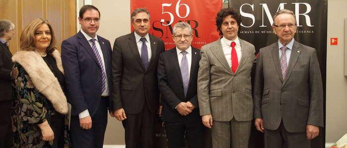 """Mariscal califica la programación de la 56 SMRC como """"atractiva, internacional y de calidad"""""""