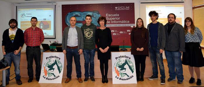 Estudiantes de la Escuela Superior de Informática de la UCLM diseñan la nueva web de la protectora de animales 'La Bienvenida'