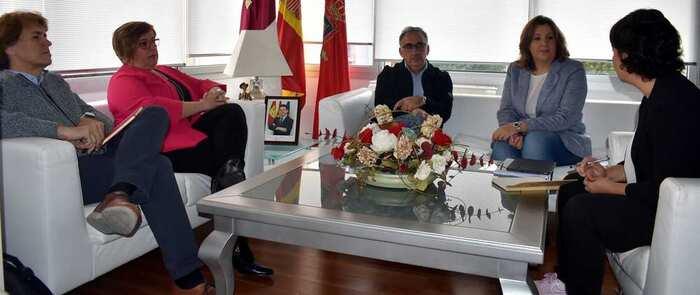 Junta de Comunidades y Ayuntamiento coordinan  la promoción empresarial de Ciudad Real