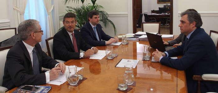 Mariscal y Turespaña sientan las bases para promocionar Cuenca a nivel internacional