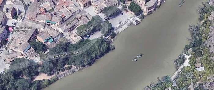 Encuentran en Toledo el cadáver de una persona flotando en el río Tajo