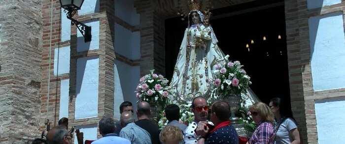 Video reportaje Romería de mayo, Virgen Nuestra Señora de los Santos, Pozuelo de Calatrava