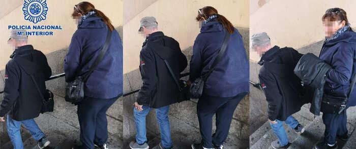 Detenidos tres carteristas pertenecientes a un grupo organizado que actuaba en el casco histórico de Toledo