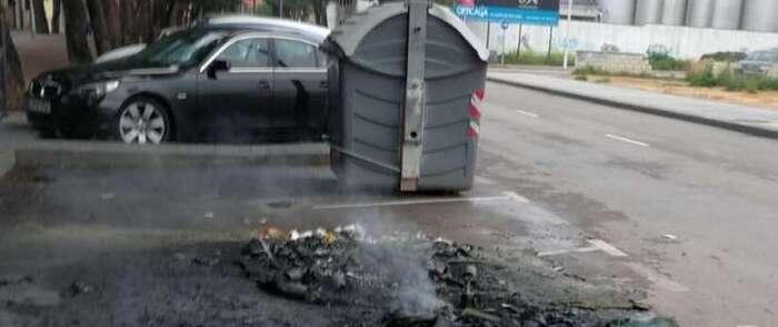 La policía de Alcázar de San Juan alerta de los incendios intencionados de los contenedores de basura