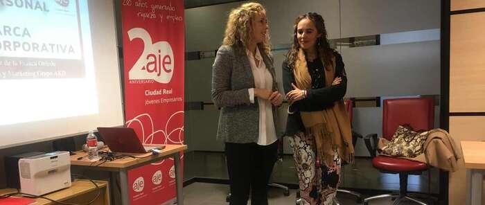 AJE Ciudad Real enseña a sus asociados a cuidar su marca personal y corporativa