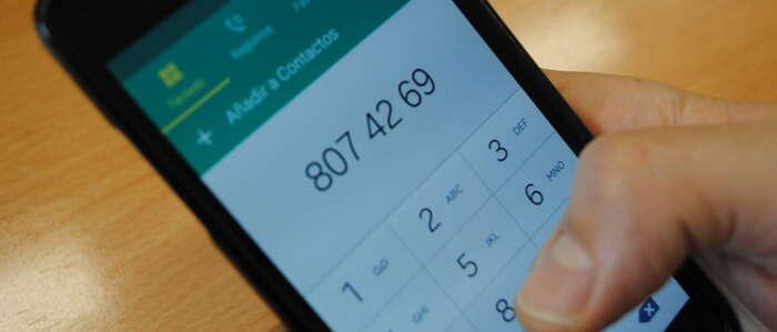 La OMIC de Valdepeñas alerta sobre una estafa telefónica a través del número 807