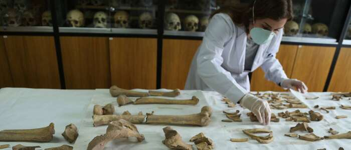 Reconstruyen la cara de un manchego prehistórico que fue enterrado en el túmulo mayor de Castillejo del Bonete, en Terrinches