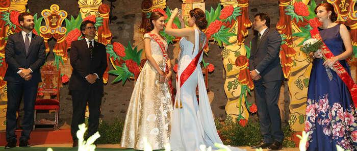Las Fiestas Patronales de Bolaños arrancaron este sábado con la coronación de la Reina y las Damas en el Castillo de Doña Berenguela