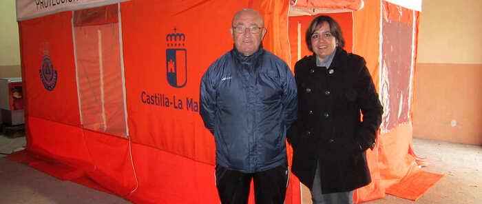 Protección Civil de Villacañas ya tiene su nueva tienda de primeros auxilios
