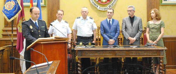 Martín Cañizal toma posesión como nuevo Inspector Jefe de la Policía Nacional en Valdepeñas