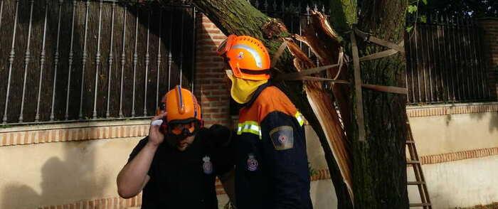 30 incidencias registradas en la región por tormenta, de las cuales 27 han sido en la provincia de Ciudad Real