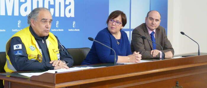 El Gobierno de Castilla-La Mancha destina 64 millones de euros a la contratación del servicio de transporte sanitario en Ciudad Real