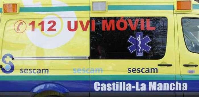 Tres personas heridas tras la colisión de dos vehículos en Heras de Ayuso (Guadalajara)