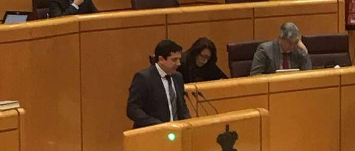 El Senador del PP y Alcalde de Bolaños, Miguel ángel Valverde Menchero, designado portavoz de la Comisión de Entidades Locales en la Cámara Alta