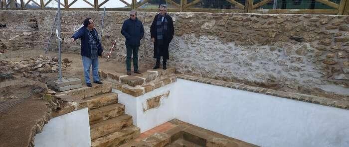 Valdepeñas recupera el vaso y la antigua Casa del cura Rabadán en el paraje El Peral