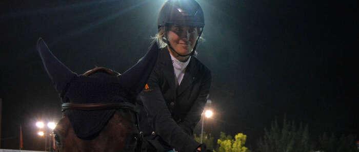 """Laura Roquet vencedora del Gran Premio """"Ayuntamiento de Ciudad Real"""" del L Concurso Hípico de Saltos"""